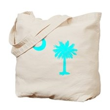 Palmetto and Crescent SC Tote Bag