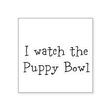 Puppy Bowl Sticker