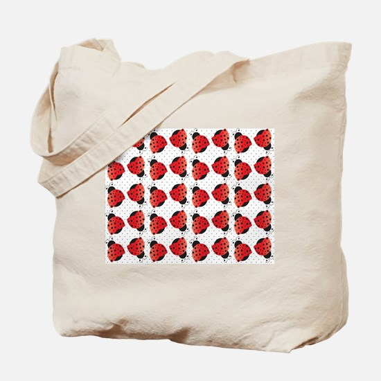Cute Ladybugs Tote Bag