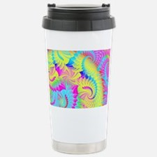 psychedelic Stainless Steel Travel Mug