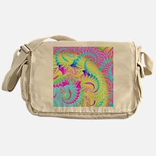 psychedelic Messenger Bag