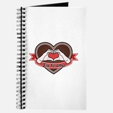 Brown heart-Eu te amo- Journal