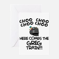 Greg Train Greeting Cards (Pk of 10)