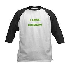 I Love Mommy (green) Tee