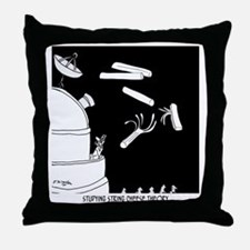 String Cheese Theory Throw Pillow