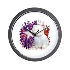 Westie Star Wall Clock