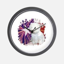 Westie Star Wall Clock