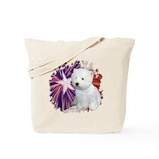Westie Star Tote Bag