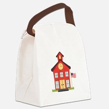 School House Canvas Lunch Bag