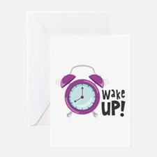 Wake Up! Greeting Cards