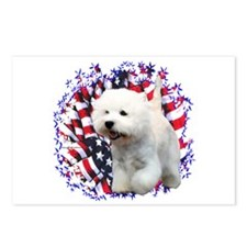 Westie Patriot Postcards (Package of 8)