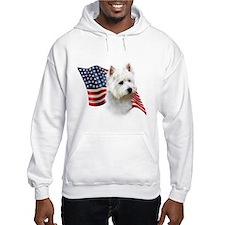 Westie Flag Hoodie