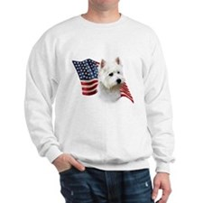 Westie Flag Sweatshirt