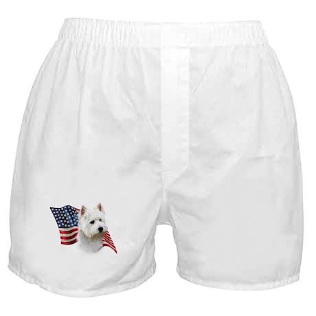 Westie Flag Boxer Shorts