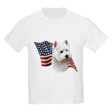 Westie Flag T-Shirt