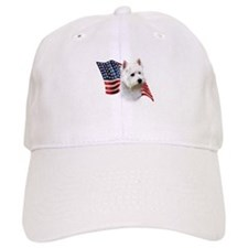 Westie Flag Baseball Cap
