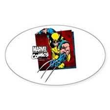 Wolverine Square Decal