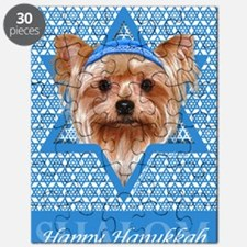Hanukkah - Yorkie Puzzle