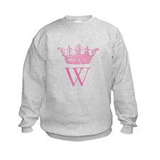 Vintage Crown Monogram Sweatshirt