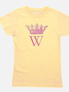 Vintage Crown Monogram Girl's Tee