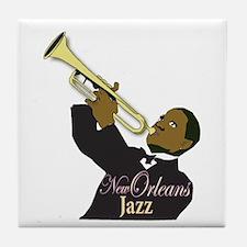 New Orlean's Jazz Tile Coaster