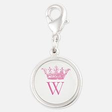 Vintage Crown Monogram Charms