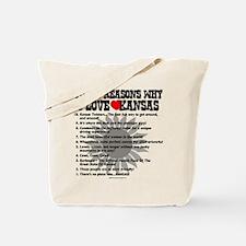 Why I Love Kansas! Tote Bag