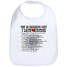 Why I Love Kansas! Bib