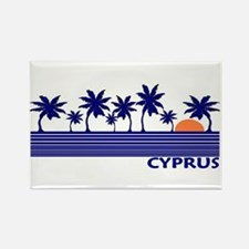 Cyprus Rectangle Magnet