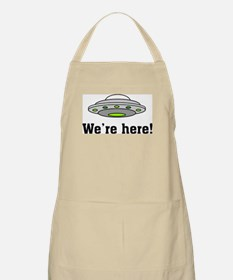 We're Here BBQ Apron