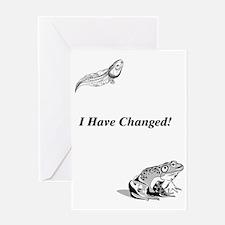 tadpole Greeting Card