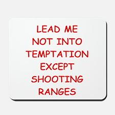 trap shooting Mousepad