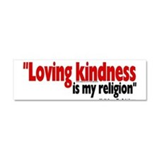 Funny Anti religion Car Magnet 10 x 3