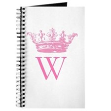 Vintage Crown Monogram Journal