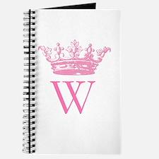Vintage Crown Monogram Journal