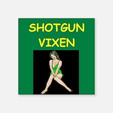 shotgun Sticker