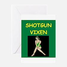 shotgun Greeting Cards
