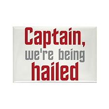 Star Trek: Captain Hailed Rectangle Magnet