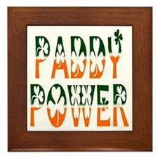 Paddy Power Framed Tile