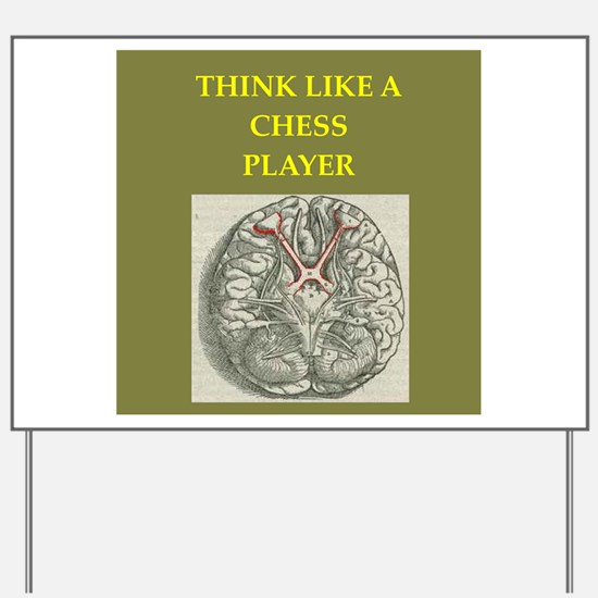 chess Yard Sign