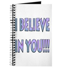 I Believe In You Journal