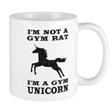 Im Not A Gym Rat Im A Gym Unicorn Mugs