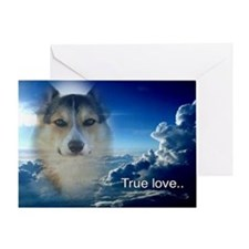 Handsome Corgi Valentine Greeting Card