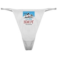 Village Missing Its Idiot Dostoevsky Classic Thong