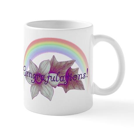 Rainbow Marriage Congratulations Mug