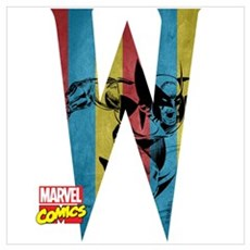 Wolverine W Wall Art Poster