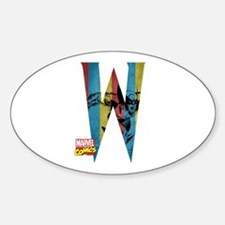 Wolverine W Decal