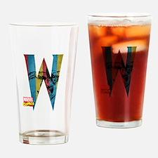 Wolverine W Drinking Glass