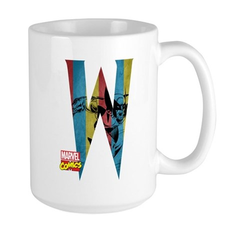 Wolverine W Large Mug