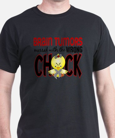 - Brain Tumors Messed With Wrong Chic T-Shirt
